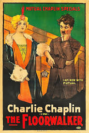 charles chaplin and edna purviance in the floorwalker 1916