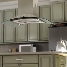 decor 50 inch stainless steel island range hoods with lights for