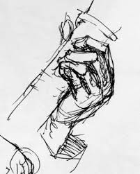 sketching musical hands while they u0027re playing guitar