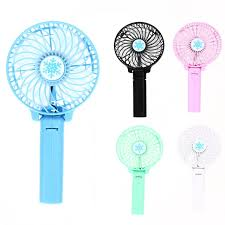 handheld fans new foldable fans battery operated rechargeable handheld mini