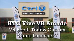 ctrlv booth tour and custom vr game launcher youtube