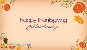 god has blessed you happy thanksgiving happythanksgiving pics