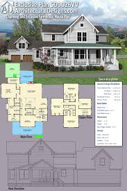 farm house designs and floor plans plan 500026vv charming and exclusive farmhouse house plan