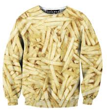 shirts french fries sweatshirt at shop jeen shop jeen