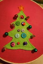 simple sewing for kids christmas tree decoration simple