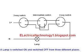 led bulb in 3 way l 2 way switch how to control one l from three different places
