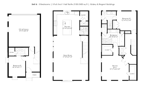 Unit Floor Plans The Brownstones At Thornton Park