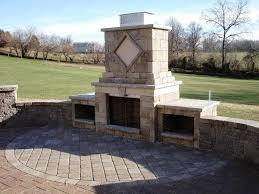 firerock outdoor fireplace kits home fireplaces firepits