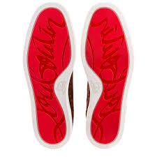 rantus orlato flat pur sang suede men shoes christian louboutin