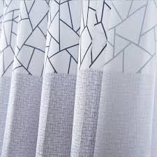 Modern Pattern Curtains Geometric Patterns Curtain For The Bedroom Polyester Modern