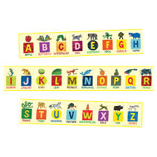 the very hungry caterpillar illustrated alphabet frieze