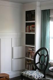Built In Bookcase Designs Free Plans For Built In Bookshelves