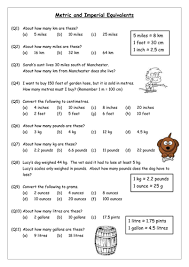 metric conversion worksheet converting units ks3 ages 11 14 resources by l orme