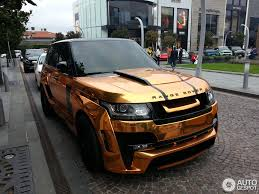 orange range rover svr land rover hamann range rover mystère 29 october 2015 autogespot