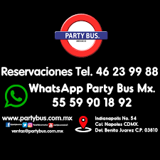 party bus logo partybusgirls partybusmx facebook
