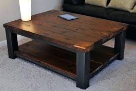 Rustic Iron Coffee Table Rustic Wood And Metal Coffee Table Rustic Industrial Reclaimed