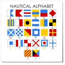 nautical alphabet cheat sheet by jorgejuan007 download free from