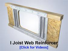 Repair Floor Joist Metwood Joist Reinforcers For Floor Joist Repair Metwood