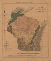 Map Of Wisconsin by Map Of The Day July 12 General Geological Map Of Wisconsin