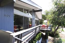 Wrap Around Deck by Updated Midcentury Modern With Wraparound Deck Asks 998k In