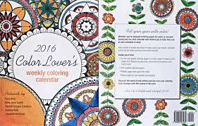 coloring calendar 2016 and free printable bookmarks to color