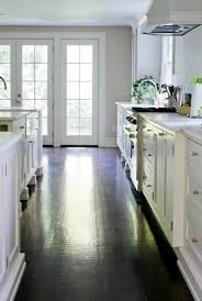 white kitchen cabinets wood floors design ideas