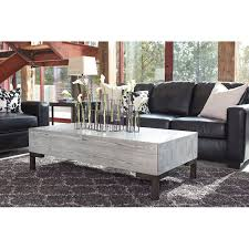 ashley marimon coffee table chalimone rectangular cocktail table jack s warehouse