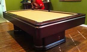 Pool Table Disassembly by Pool Table Movers Pool Table Mover Pool Table Moving Services