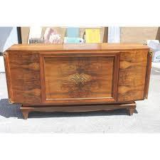 century french marble top walnut buffet cabinet antique walnut buffet