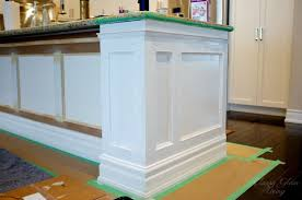 wainscoting kitchen island wainscoting kitchen island awesome diy kitchen island makeover