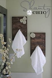 Towel Holders For Small Bathrooms Diy Towel Racks For A Chic Bathroom Update