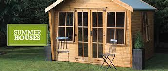 Summer Garden Sheds - shedlands ltd