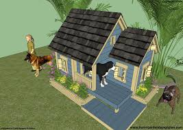 insulated duplex dog house plans doghouse plans double dog house