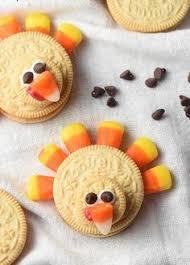 easy no bake pilgrim cookie hats recipe oreo turkey