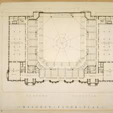 calisphere balcony floor plan photographic reproduction of