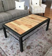 Rustic Industrial Coffee Table Rustic Industrial Coffee Table