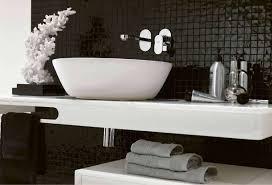 tappeti bagni moderni bagno bianco e nero foto 11 24 design mag