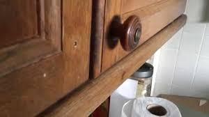 Fixing Kitchen Cabinets Fix Kitchen Cupboard Door Handle Youtube