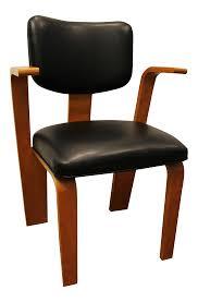mid century danish modern joe atkinson bentwood armchair for