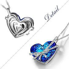 tie pendant necklace images The shoe club qianse heart of the ocean bowtie pendant jpg