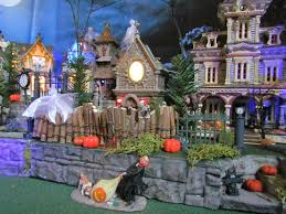 department 56 halloween village multi level halloween village display platform base 28