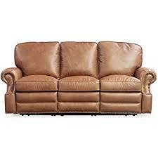barcalounger premier reclining sofa amazon com barcalounger longhorn ii leather reclining sofa chaps