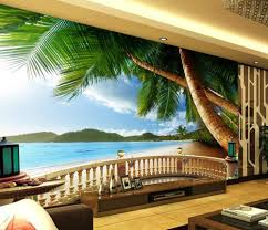 landscape wallpaper murals beach scenery papel parede mural