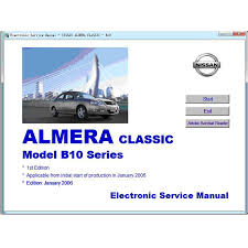 nissan service repair manuals list download documents of the