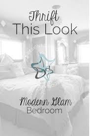 Bedroom Design Decor Thrift This Look Modern Glam Bedroom Designed Decor