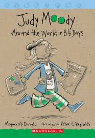 judy moody around the world in 8 1 2 days by megan mcdonald