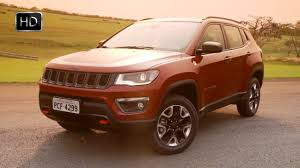 orange jeep compass 2017 jeep compass suv exterior design overview hd youtube