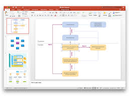 how to add a block diagram to a powerpoint presentation using