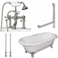 Cast Bathtub Cast Iron Clawfoot Tub Packages U0026 Pedestal Tub Packages