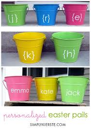 easter pail easter pails simplykierste